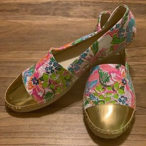 Lilly Pulitzer for Target Colorful Espadrilles